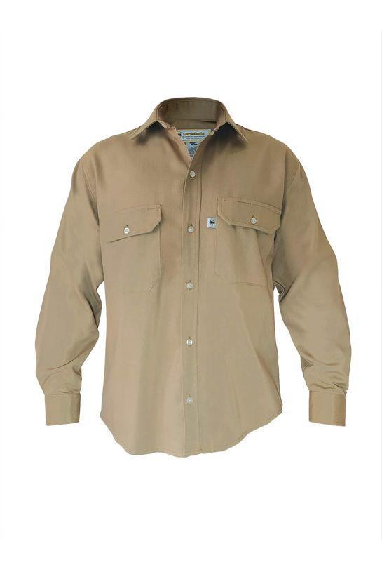 Camisa-Eiger-Khaki-delantero