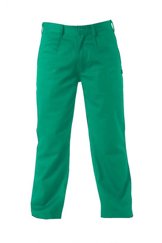 Pantalon-de-soldador-Verde-delantero